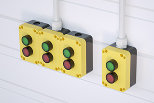 Quadro - buttons and switches